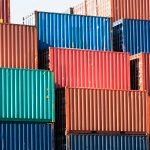 What precautions should take while shipping containers?